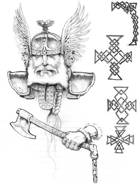 viking sketch