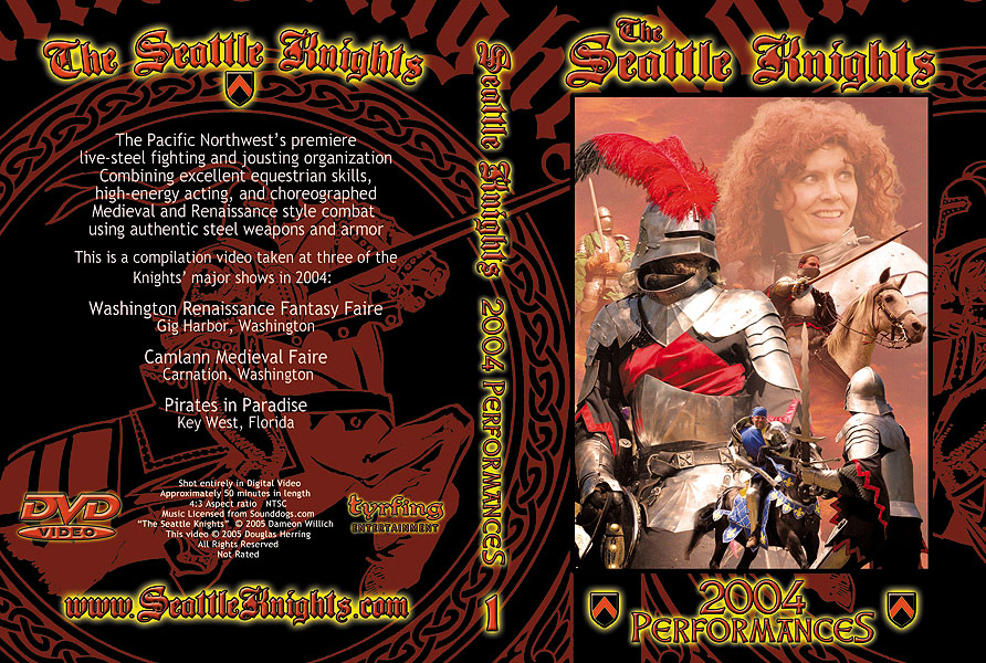 Seattle Knights DVD cover